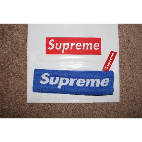 Supreme Other - Blue Supreme Headband